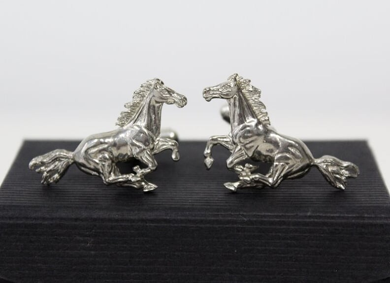 Galloping Horse Cufflinks