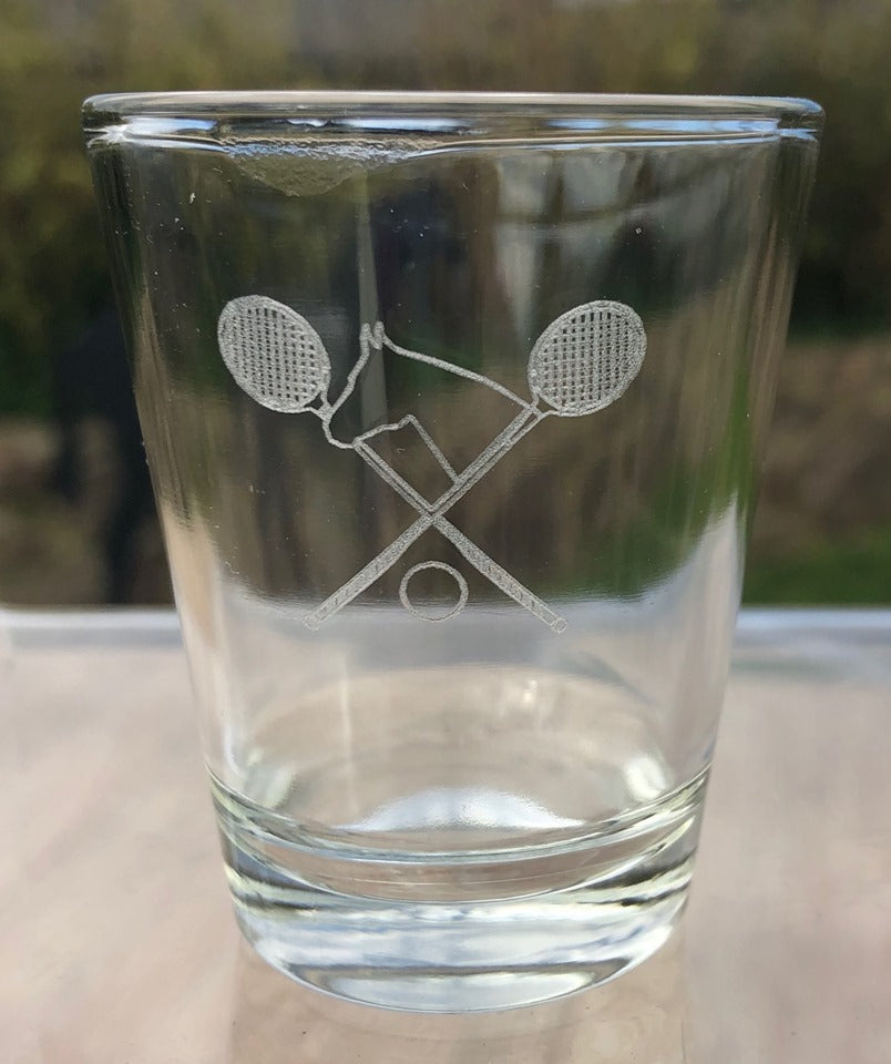 Polo Cross Shot Glasses