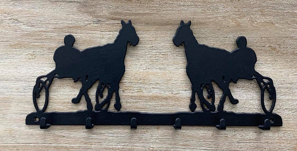 Standardbred  6 Hook Key Rack