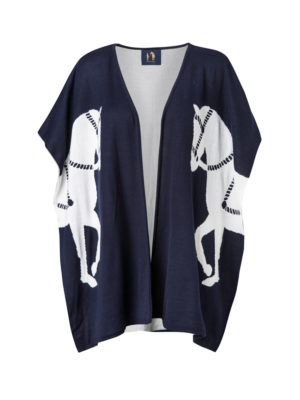 Twin Horse Poncho