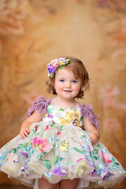 "Petal ""Monet""- Short Length Dress (2 Year - Petite 4 Year)"