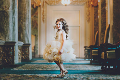 """Waverly"" Flower Girl Dress,  Special Occasion Dress"