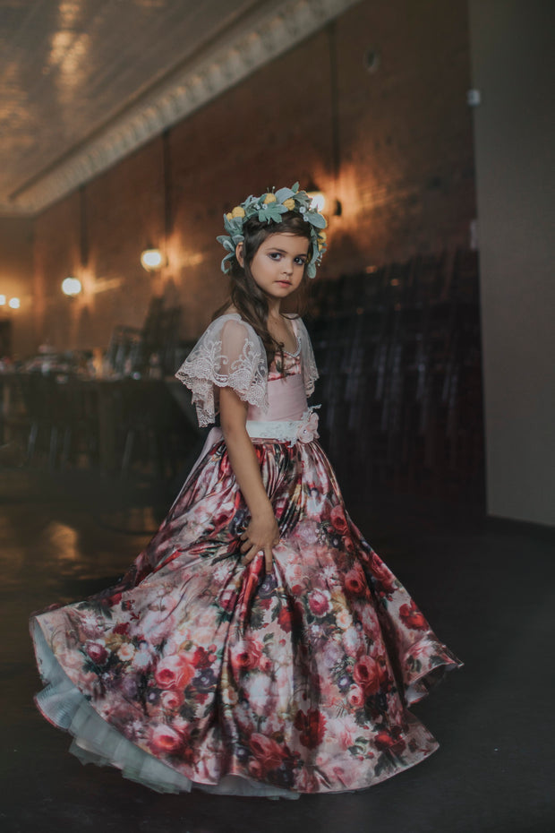 """Brittney"" Flower Girl Dress,  Special Occasion Dress"