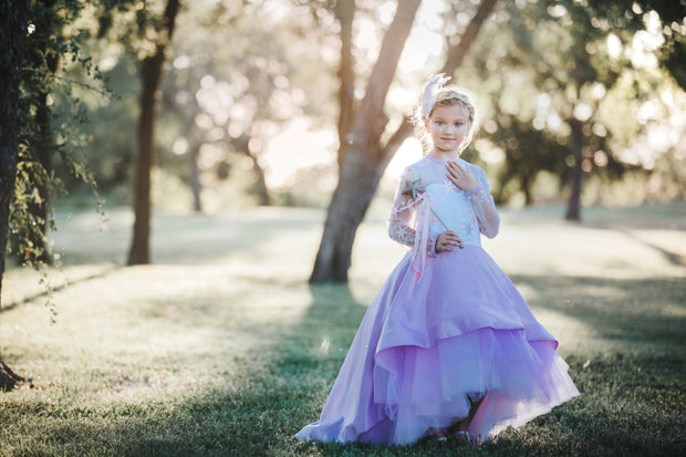 """Star"" Flower Girl Dress,  Special Occasion Dress"