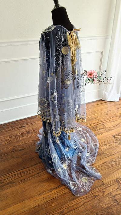 Paris -Beautiful boho inspired gown - (TEEN-ADULT)