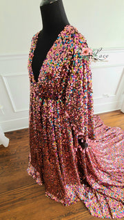 Lisa-Beautiful boho inspired gown - (TEEN-ADULT)