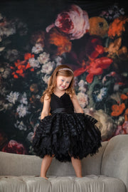 """Blackbird"" -  Petal Length Dress  - ( 3 Year - Petite 5 Year)"