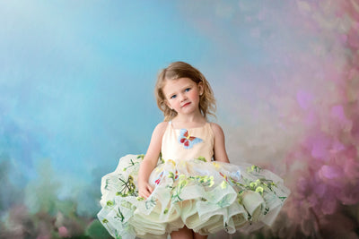 "Petal ""Butterfly Serenades""- Short Length Dress (2 Year - Petite 4 Year)"