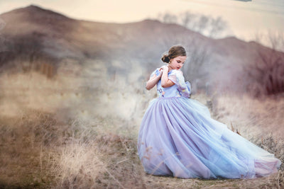 """Lavender"" Flower Girl Dress,  Special Occasion Dress"