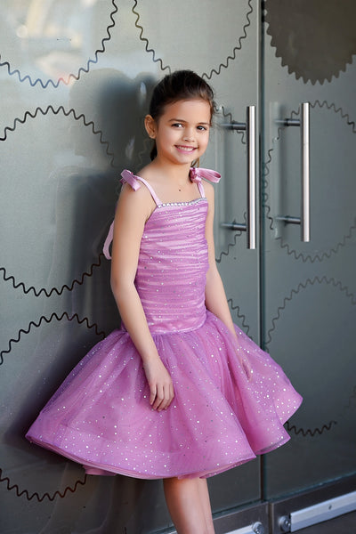 """DUSK"" Flower Girl Dress,  Special Occasion Dress"