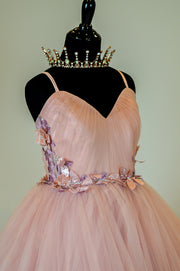 "Grace ""Ballerina Pink"" (16 YEAR – Adult 8) Maternity friendly. Perfect mommy and me gown."