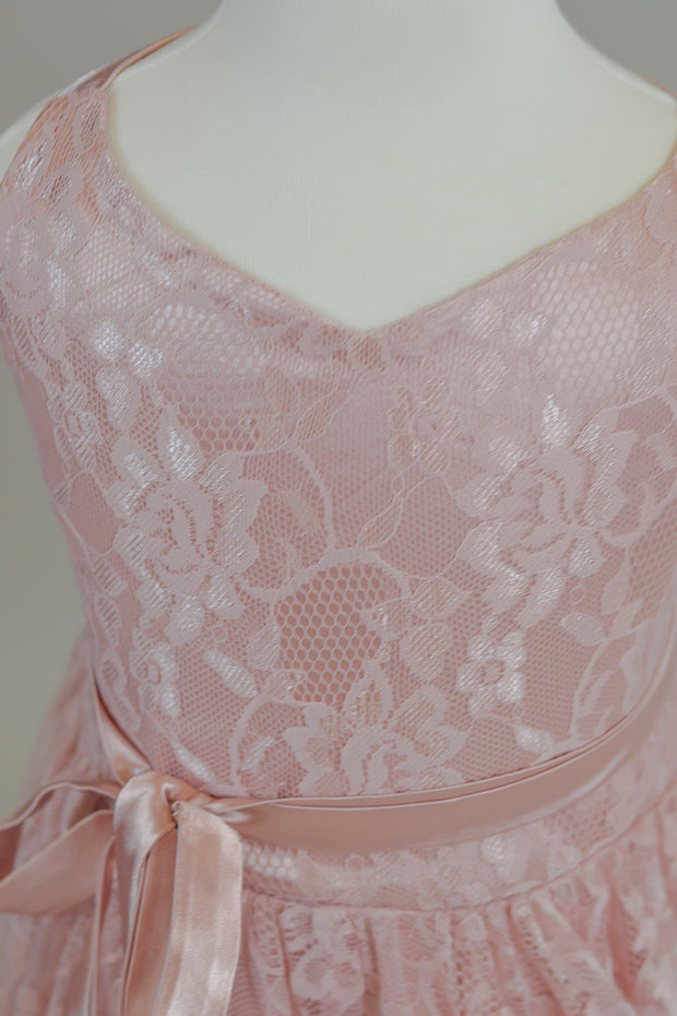 "LORELEI - in ""Blush"" Lace Dress (4 YEAR-PETITE 12 YEAR) new condition"