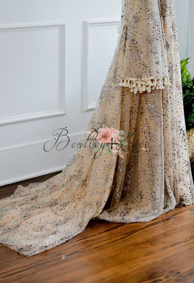Liberty -Beautiful boho inspired gown - (TEEN-ADULT) Maternity friendly.