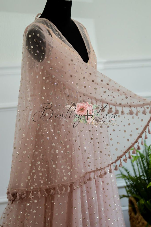 Rose -Beautiful boho inspired gown - (TEEN-ADULT)