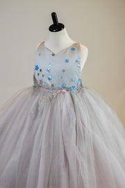 ALL THAT SHIMMERS- MODIFIED DILLON GOWN -GORGEOUS SPECIAL OCCASION OR PHOTO SHOOT DRESS