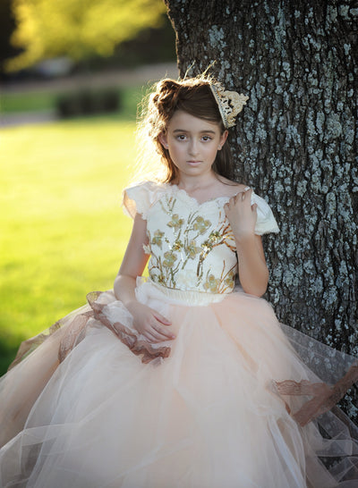 """Mia""  Flower girl dress, Special Occasion Dress"