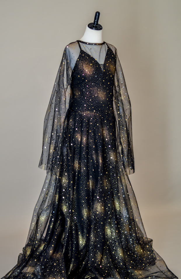 Midnight Stars -  Bohemian Inspired gown (Teen/Adult) Maternity/ Non Maternity