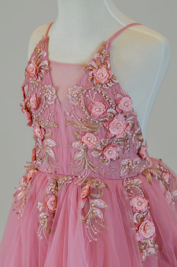 """Dillon"" Flower Girl Dress,  Special Occasion Dress"
