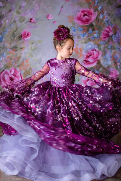 Brooklynn Floor Long gown (6 Year-Petite 10 Year)