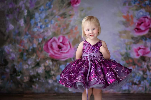 Brooklynn ballerina length gown (4 year- petite 6 year)