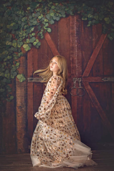 """Frances""-Beautiful boho inspired gown - (5 - 8 YEAR)"