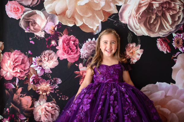 RHAPSODY Sugarplum-FLOOR LONG LENGTH - 5 year-petite 10