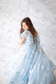 Rhapsody-Floor Long length (3 YEAR-PETITE 7 YEAR) will ship Friday or Monday 2/7 or 2/10