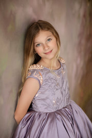 Aurora gown- (8 Year - Petite 13 Year) READY TO SHIP ON 2/7 OR 2/10