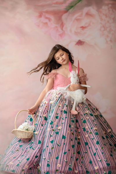 Sadie-Floor long - Gorgeous special occasion or photo shoot dress (6 Year-Petite 12 Year)