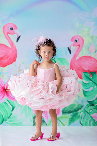 "Petal ""Mingo Kisses""- Short Length Dress (2 Year - Petite 4 Year)"