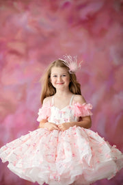 "Petal ""Mingo Kisses""- Short Length Dress (4 Year - Petite 6 Year)"