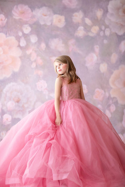 Stassi Tulle gown- Gorgeous special occasion or photo shoot dress (5 Year-Petite 10 Year)