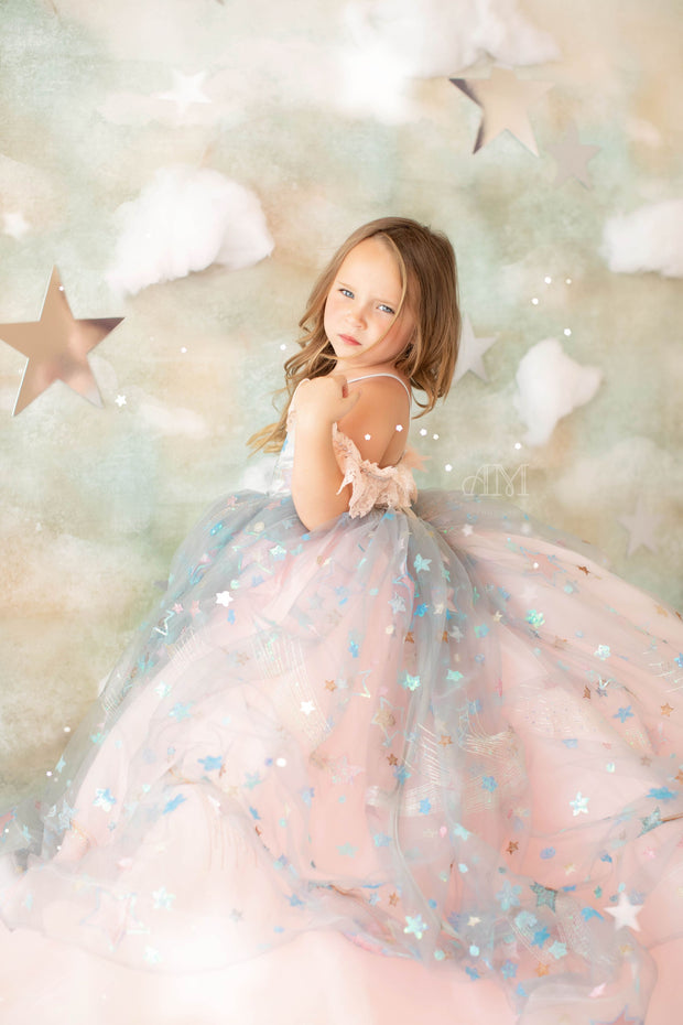 All that Shimmers- Gorgeous special occasion or photo shoot dress (5 Year-Petite 8 Year)