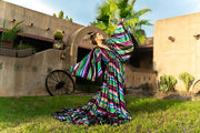 Roxy -Beautiful boho inspired gown - (TEEN-ADULT) -Maternity friendly.
