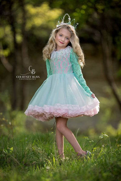 """Kelsey"" Flower Girl Dress,  Special Occasion Dress"