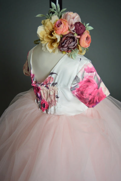 """Olivia"" Flower Girl Dress,  Special Occasion Dress"