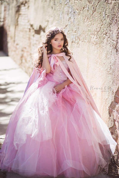 """Stardust"" Flower Girl Dress,  Special Occasion Dress"