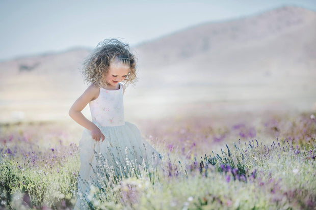 """Hope"" Flower Girl Dress,  Special Occasion Dress"