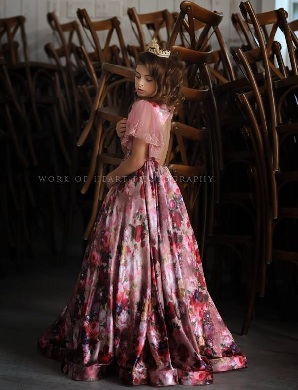 """Brooklyn"" Flower Girl Dress,  Special Occasion Dress"