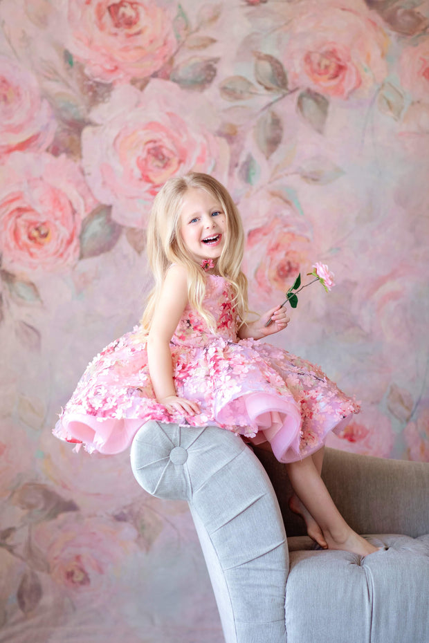 Mona ballerina length gown (4 year- petite 6 year)