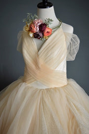 """Ember"" Flower Girl Dress,  Special Occasion Dress"
