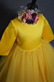 """Margeaux"" Flower Girl Dress,  Special Occasion Dress"