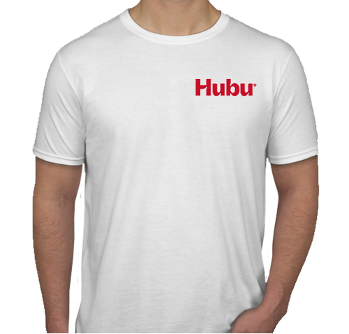 T-shirt Hubu team building blanc