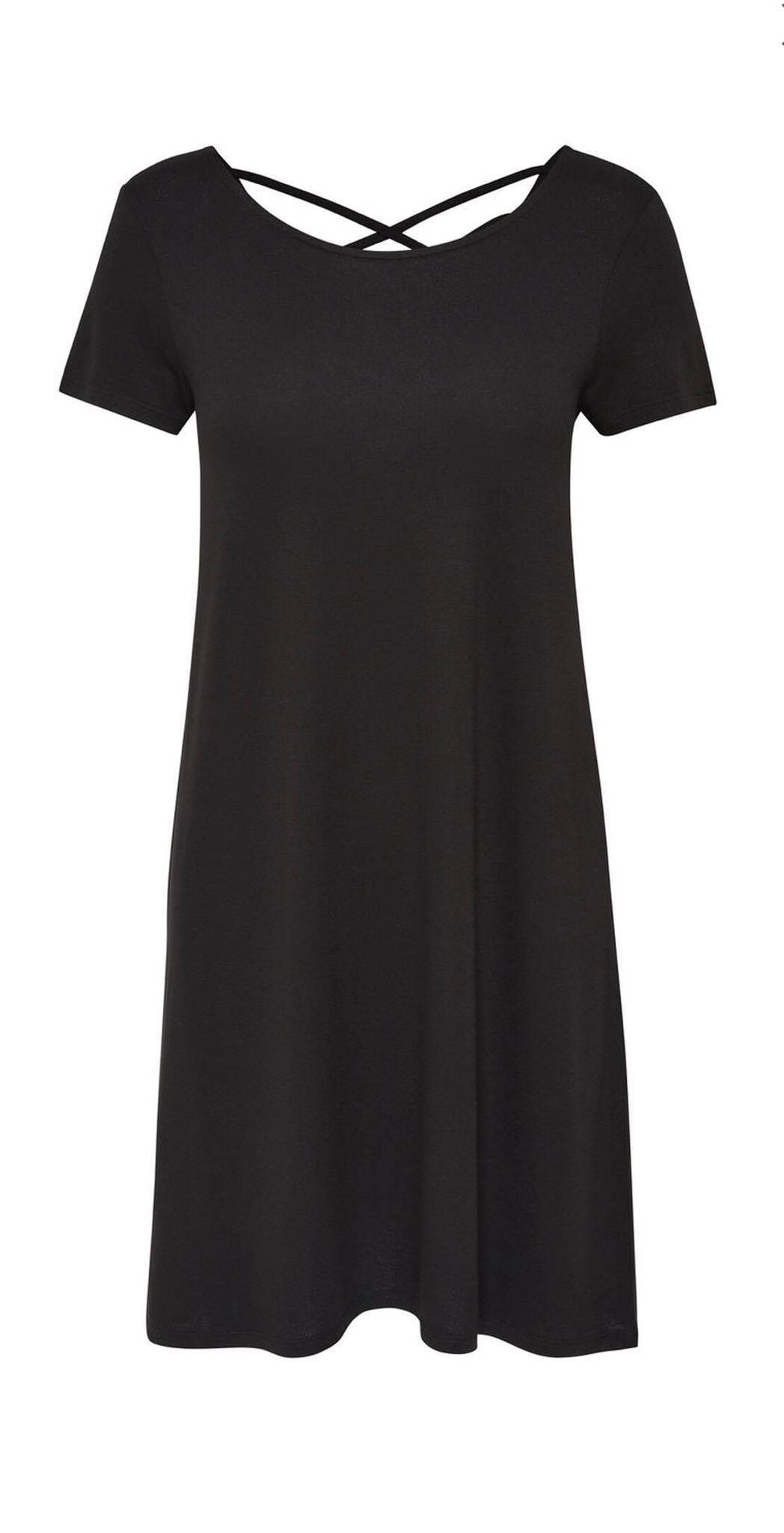 Robe manches courtes ONLY - Noir