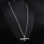 Load image into Gallery viewer, Choker Necklace AK-47 - popxstore