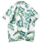 Load image into Gallery viewer, Beach Shirt Green Leaf - popxstore