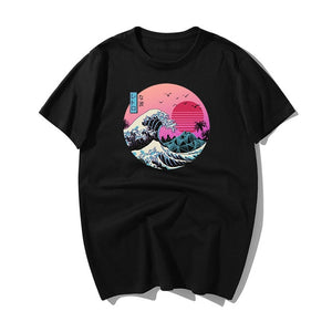 T-Shirt The Wave - popxstore