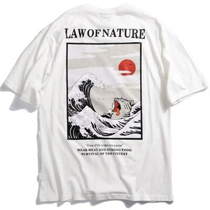 T-Shirt Law Of Nature - popxstore