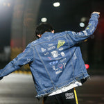 Load image into Gallery viewer, Jacket Denim - popxstore