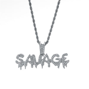 Savage Necklace Chain - popxstore